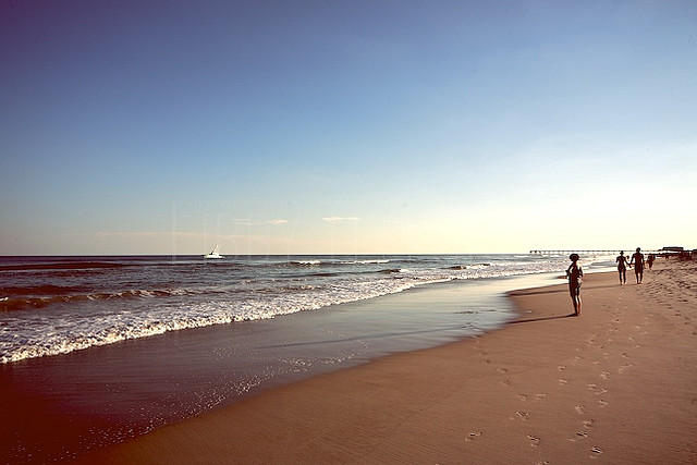 A beach near Wilmington, NC.