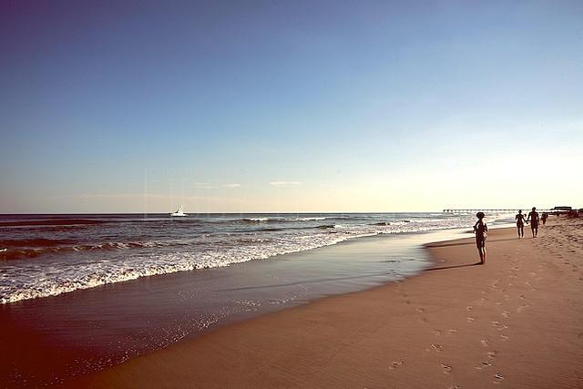 A beach near Wilmington, NC.