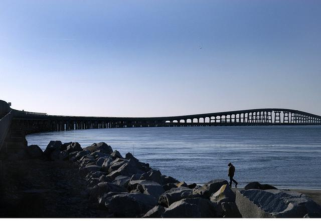 Bonner Bridge in 2008, before Hurricane