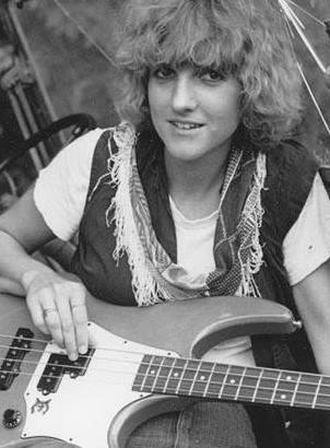 Faye Hunter was the bassist for 80's band Let's Active.