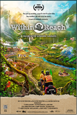 The poster for the film 'Within Reach' which screens Monday, July 29th at Motorco Music Hall in Durham, NC.