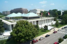 Image of NC General Assembly where lawmakers are considering two controversial bills.