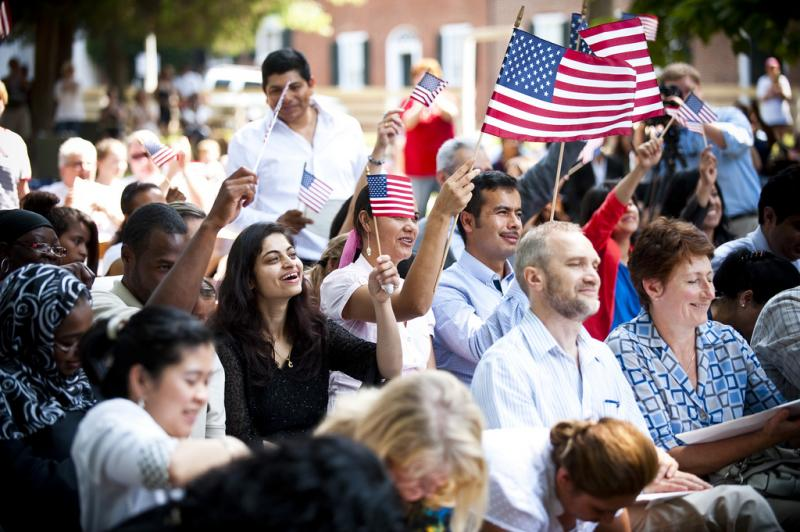 Old Salem hosted a naturalization ceremony last year on Independence Day as well.