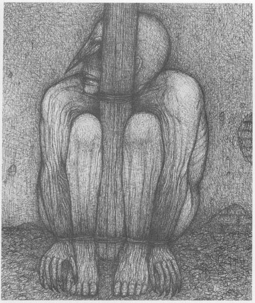Painting: Untitled by Zdislav Beksinski