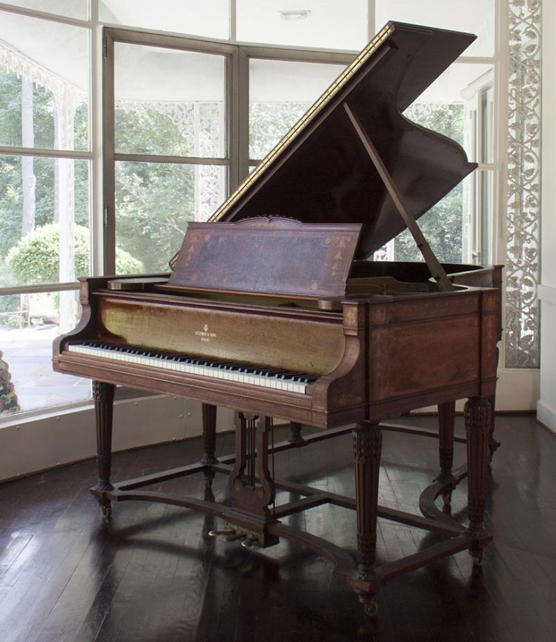 A Steinway piano along with about 500 other items from Mary Duke Biddle Trent Semans' estate will be up for auction this weekend
