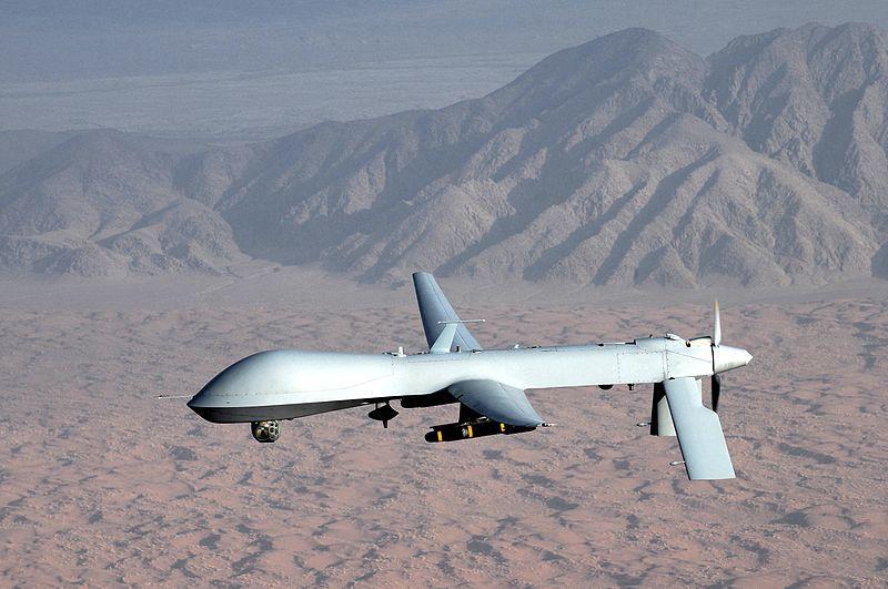 Photo: An MQ-1 Predator aircraft