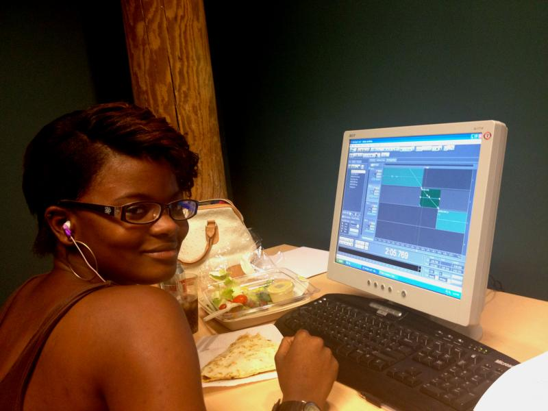 Justavis Brooks was a Youth Radio reporter with WUNC this past summer.