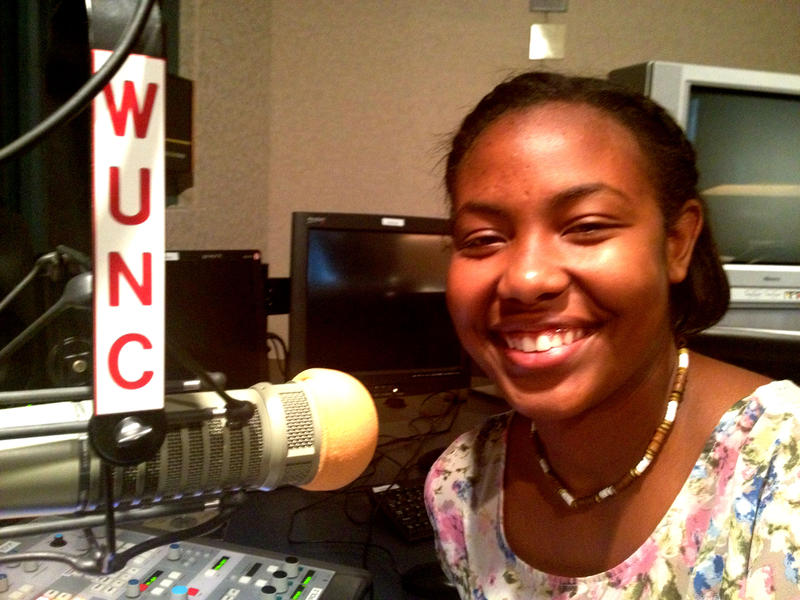Kamaya Truitt-Martin was a reporter with WUNC's Youth Radio Institute this summer.