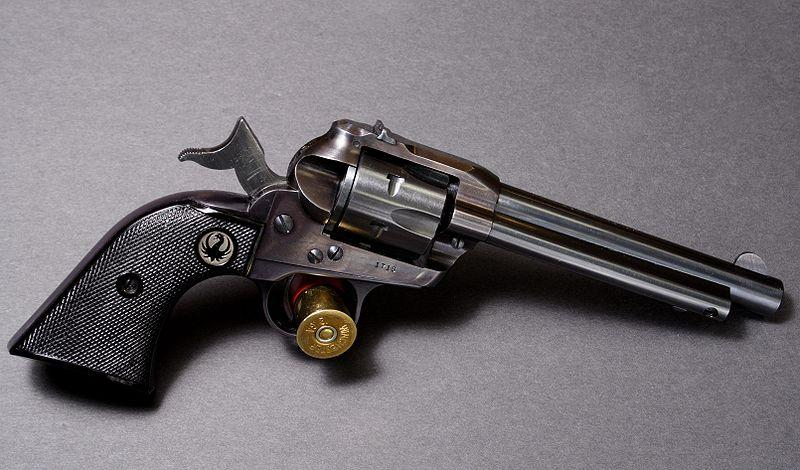 A Ruger Single Six. Sturm, Ruger & Co. is opening a gun manufacturing plant in Rockingham County.