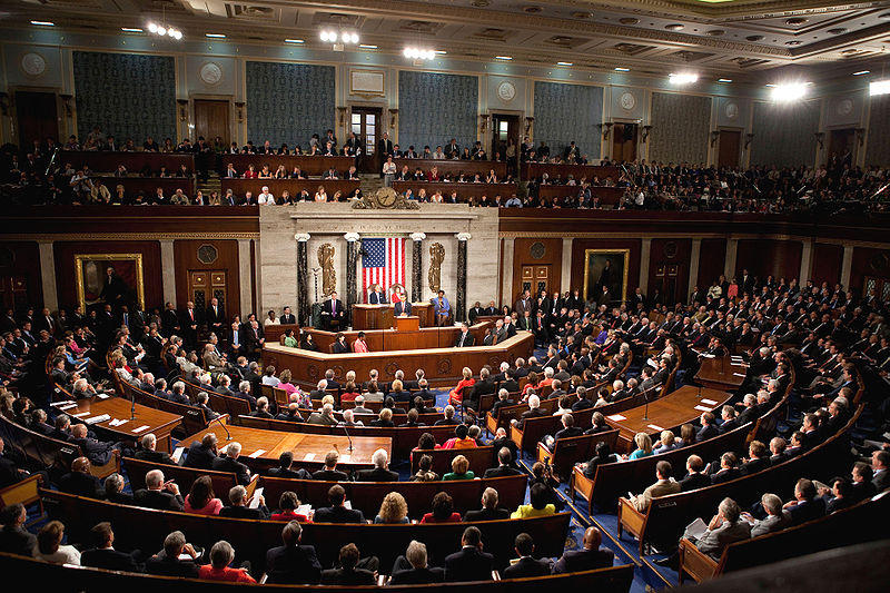 North Carolina's delegates in the US Senate and House of Representatives have released statements about Syria.  This photo shows a joint session of Congress in 2009.