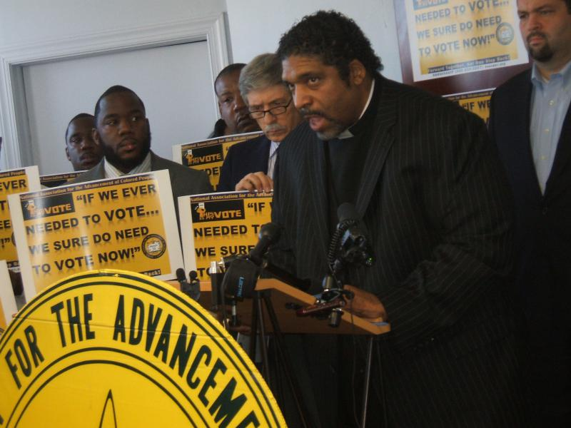 NAACP William Barber