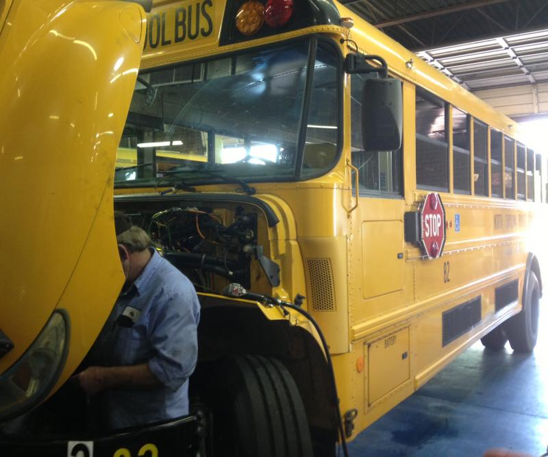 school bus maintenance