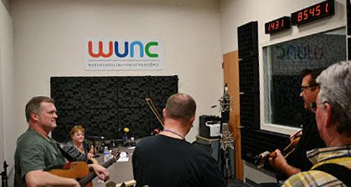 The Grass Cats perform in WUNC's Raleigh Studio