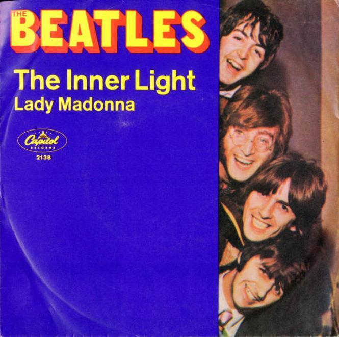 Illustration: 'Lady Madonna' single cover