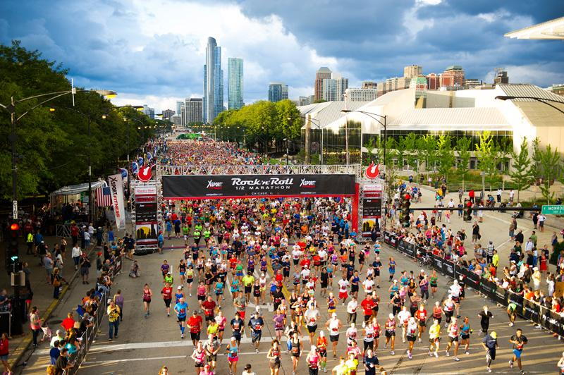 Photo: The Rock 'n' Roll Chicago Half-Marathon