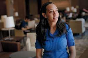 Haben Girma was the first deaf-blind student to graduate from Harvard Law.