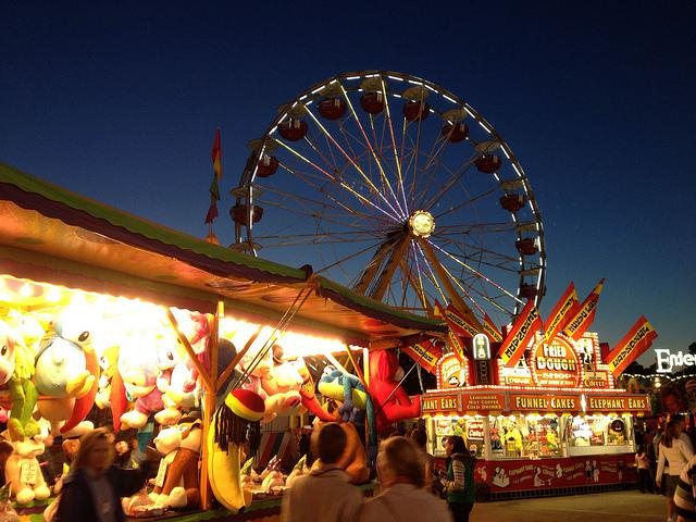 Photo: Ferris wheel at the N.C. State Fair