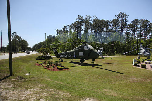 Contaminated water at the Camp Lejeune military base has been linked to adverse health effects.