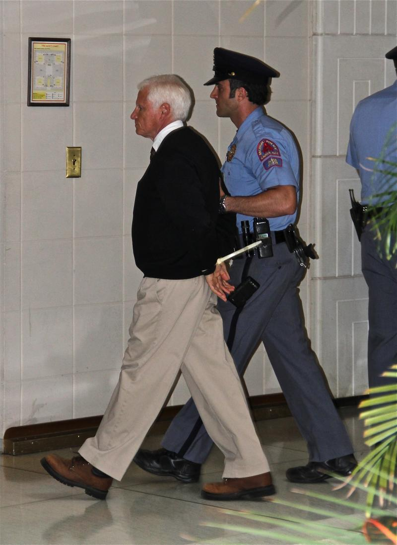 Dave Otto captured many arrests, including this one.