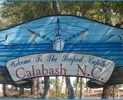 Calabash is a small fishing town in Brunswick County, North Carolina
