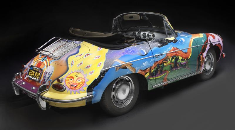 Porsche Type 356C Cabriolet, 1965, Collection of the Joplin Family