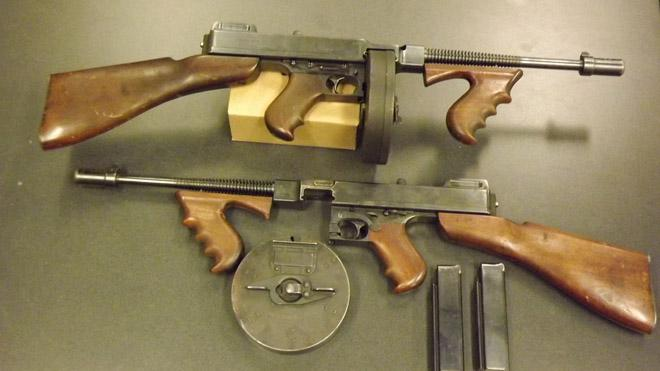 Vintage Tommy Guns