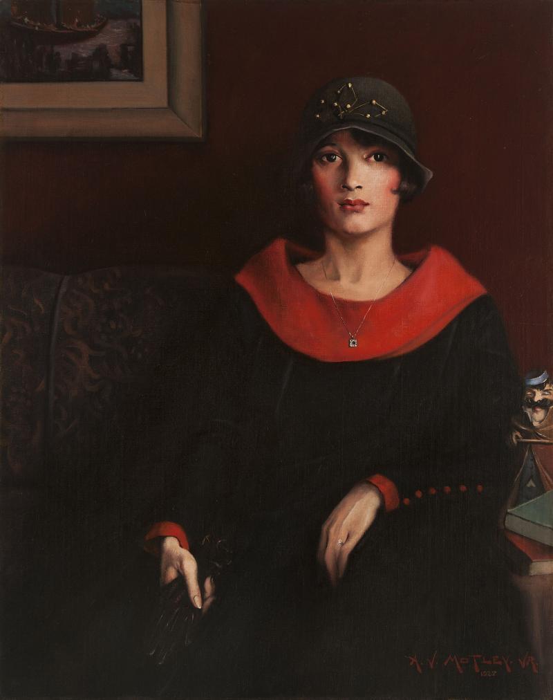 Archibald J. Motley Jr., The Octoroon Girl, 1925. Oil on canvas, 38 x 30.25 inches (96.5 x 76.8 cm). Courtesy of Michael Rosenfeld Gallery, LLC, New York, New York. © Valerie Gerrard Browne.