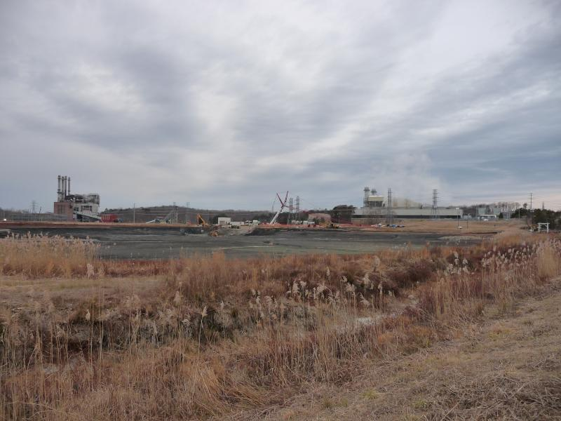 On February 2, between 50,000 and 82,000 tons of coal ash and 27 million gallons of ash pond water waste were released at Duke Energy's Dan River Steam Station (pictured above) north of Eden, N.C.