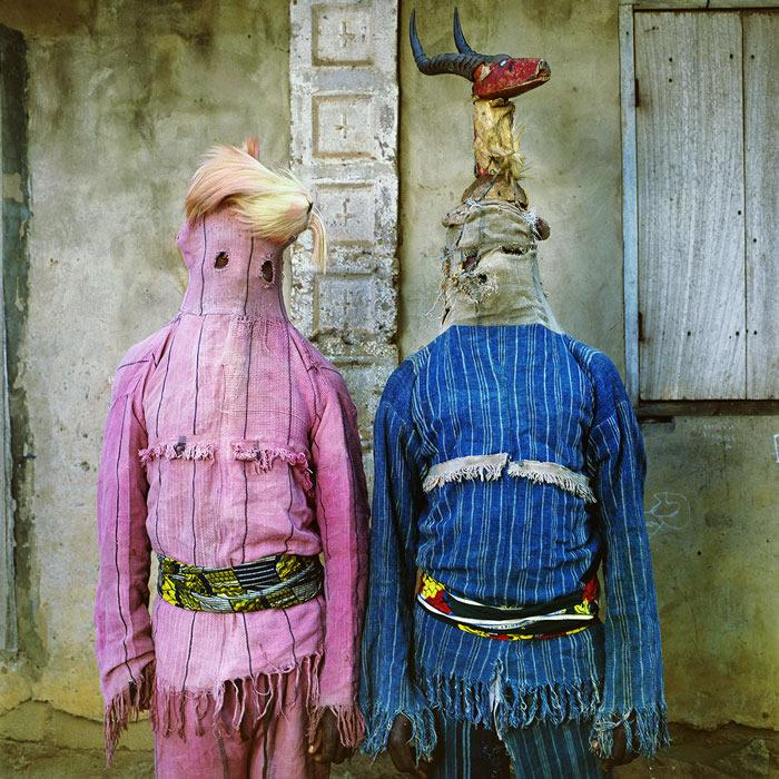 Akata Dance Masqueraders in Ogoja, Nigeria