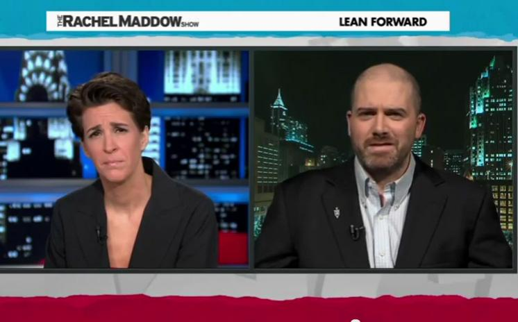 the coal ash spill in Jeff Tiberii reports on Eden, NC on MSNBC
