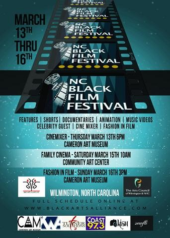 North Carolina Black Film Festival Flyer