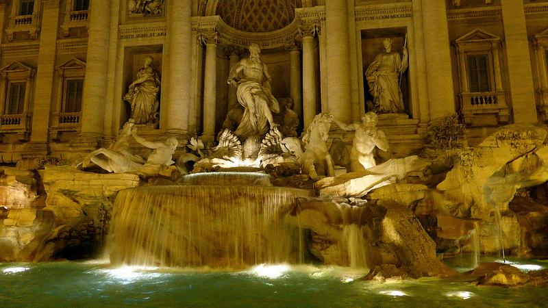 The real Trevi Fountain
