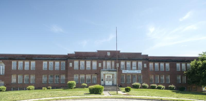 Hillside Park High School (most recently known as J. A. Whitted Junior High School), a Classical Revival-style, brick school that dates to 1922, was the first high school for African-Americans in Durham.