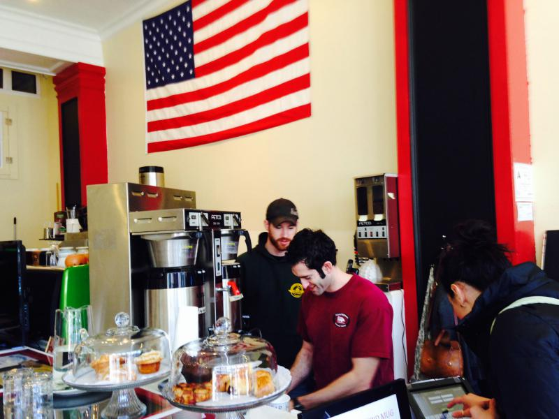 Ryan Wetter (left) and Matt Victoriano at Intrepid Life Coffee & Spirits