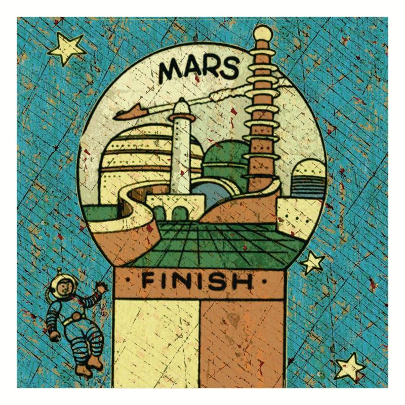 Mars album art