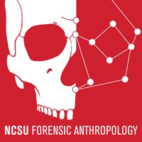 A picture of the NCSU Forensic Anthropology Logo.
