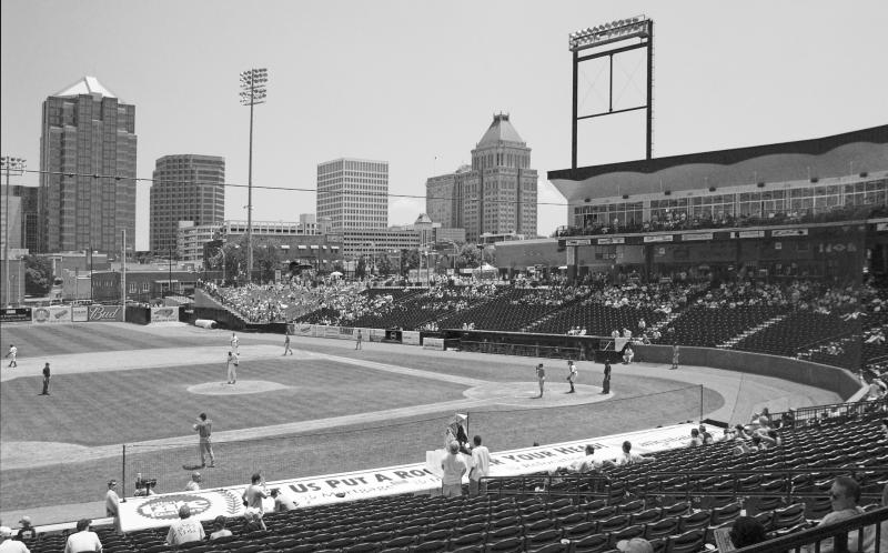 Greensboro's NewBridge Bank Park