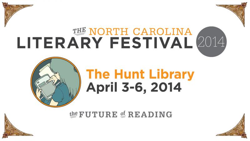 The North Carolina Literary Arts Festival logo