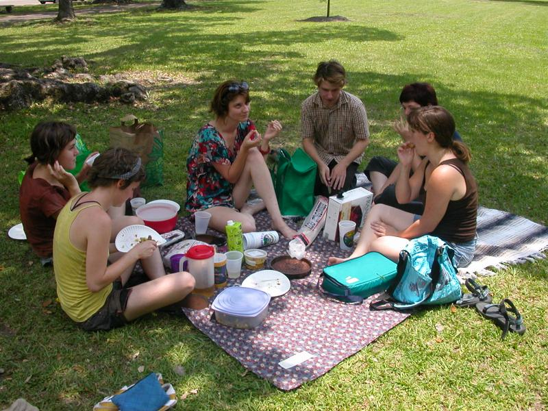 Making plans for the weekend? Picnic