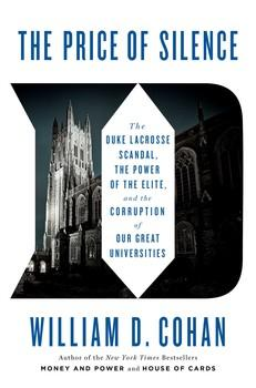 "Book cover with Duke ""D"" and image of Duke's campus"