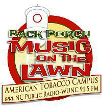 Back Porch Music on the Lawn Logo