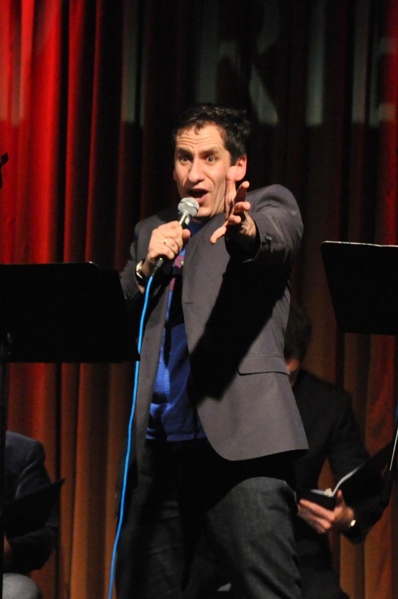Photo of Broadway comic Seth Rudetsky