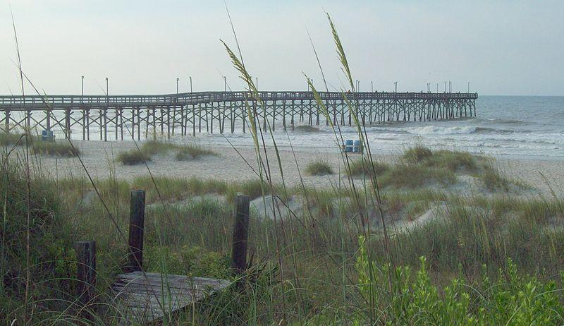 A picture of the Fishing Pier at Ocean Isle Beach, NC.