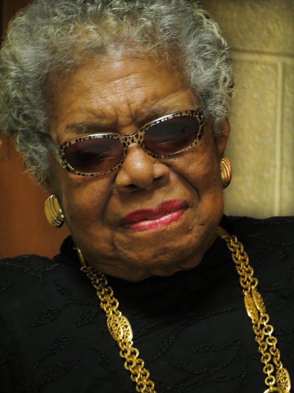 Dr. Maya Angelou (2/4/13)