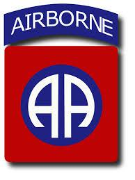 A picture of the Airborne logo.