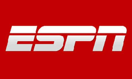 Logo for ESPN. Sport Science is an ESPN TV series