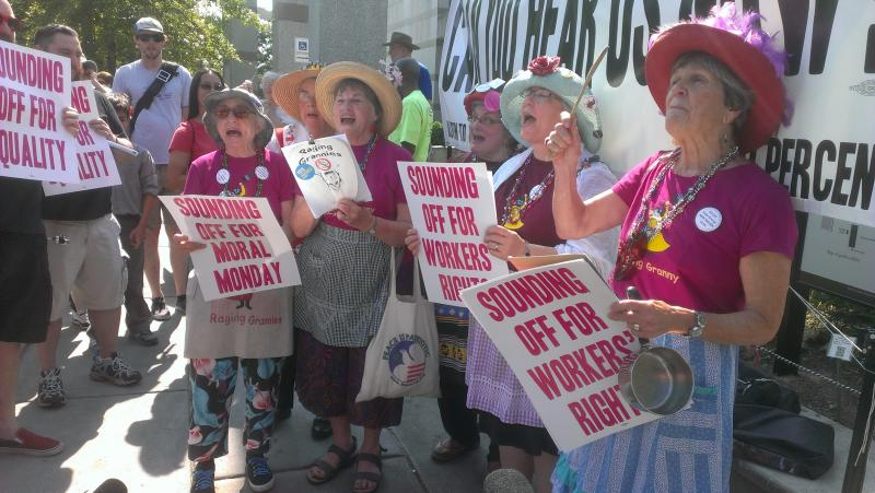 Photo: The Raging Grannies