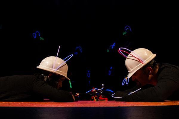 Pimpila Violette as Raj and David Klionsky as Greg in Odyssey to Mars by Evan J. Hunt