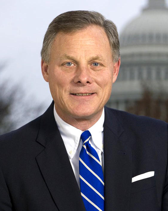 A portrait of Sen. Richard Burr