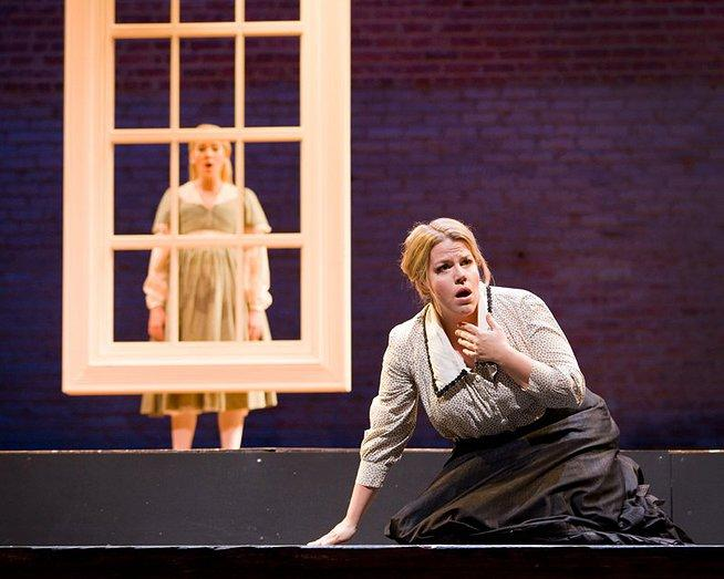 Andrea Moore performs in the opera, Turn of the Screw